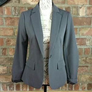 Forever 21 dark gray blazer